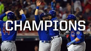 IT HAPPENED CUBS WIN WORLD SERIES 2016