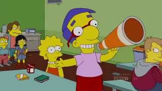 milhouse sings a song to lisa