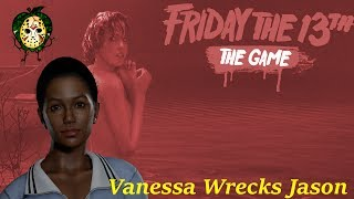 Vanessa Decides She Doesn't Like Jason, So She Deletes Him With Tommy - Friday The 13th: The Game thumbnail