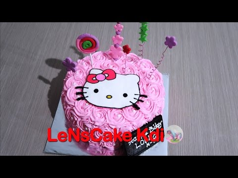How to Make Birthday Cake Hello Kitty! The Present
