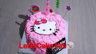 Kekinian! Cara Membuat Kue Ulang Tahun Hello Kitty