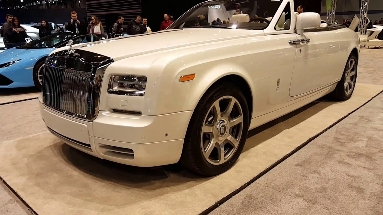 2016 rolls royce phantom drophead exterior and interior walkaround 2016 chicago auto show youtube. Black Bedroom Furniture Sets. Home Design Ideas