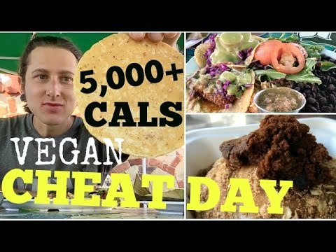 Vegan Cheat Day Berkeley ❋ (5,000+ cals) ❋ 85 mile bike ride