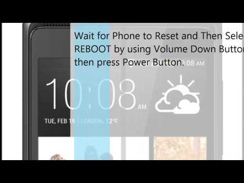 HTC Desire 600 Factory Reset