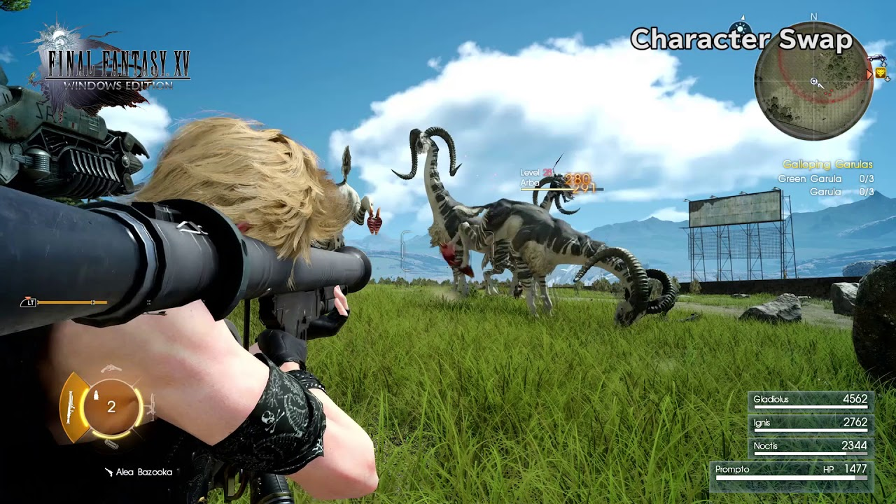 Final Fantasy XV Windows Edition – im Kampf