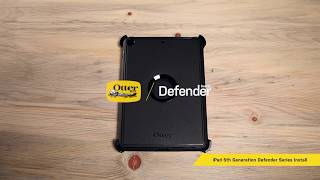 Defender Series Installation for iPad 5th Generation