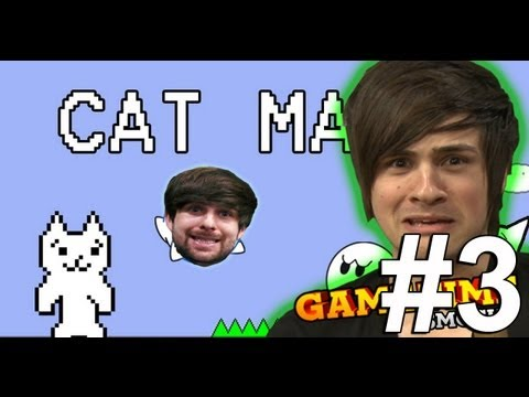 CAN'T GET ENOUGH CAT MARIO (Gametime w/ Smosh)