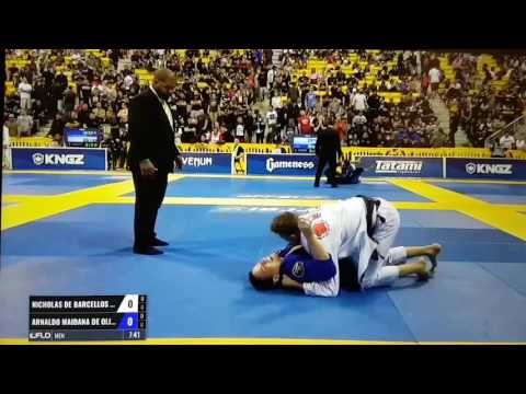 Nicholas Meregali Worlds 2017 Short Highlight