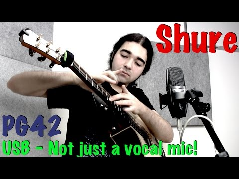 Is the Shure PG42 USB more than just a vocal mic? Let's find out!