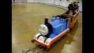 Thomas The Tank Engine Riding Train