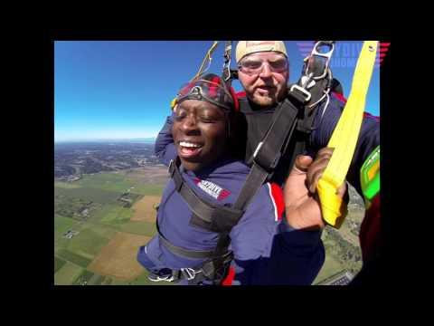 Ebenezer Obiem's Tandem skydive!