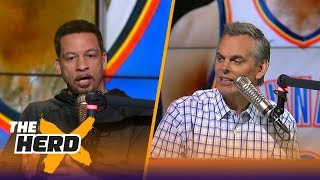 Chris Broussard talks Thunder and Celtics after Tuesday's win by Boston | THE HERD