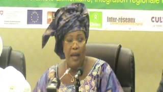 Discours de clôture : Madame la Ministre de l'Elevage et des Productions Animales du Sénégal