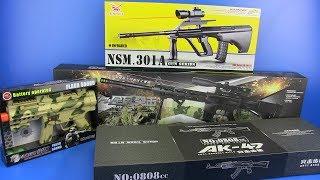 Guns Toys - Box of Toys ! Military Guns Best Toys for Kids