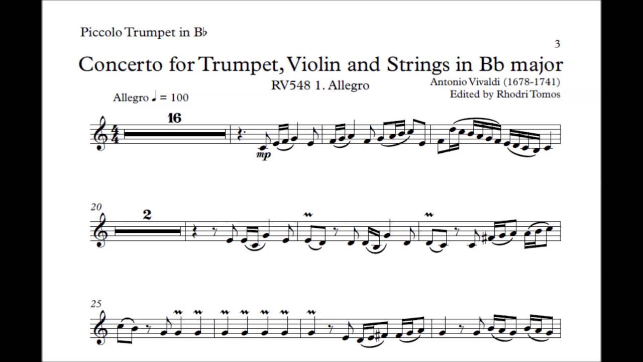 haydn trumpet concerto 2nd movement pdf