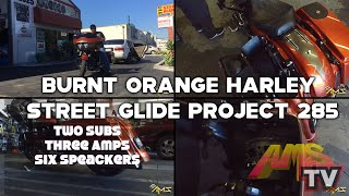 Burnt Orange Harley Street Glide Project 285