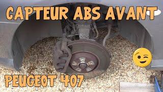 Tutoriel 407 #11 Remplacement capteurs ABS avant