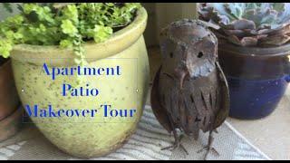 Apartment Patio Makeover Tour