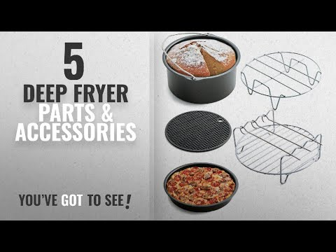 Top 10 Deep Fryer Parts & Accessories [2018]: Air Fryer Accessories for Gowise Phillips and Cozyna,