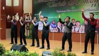 Video Sinergi Nasyid Live Performance, Kun Anta -  Humood AlKhudher  حمود الخضر - كن أنت download MP3, 3GP, MP4, WEBM, AVI, FLV Oktober 2018