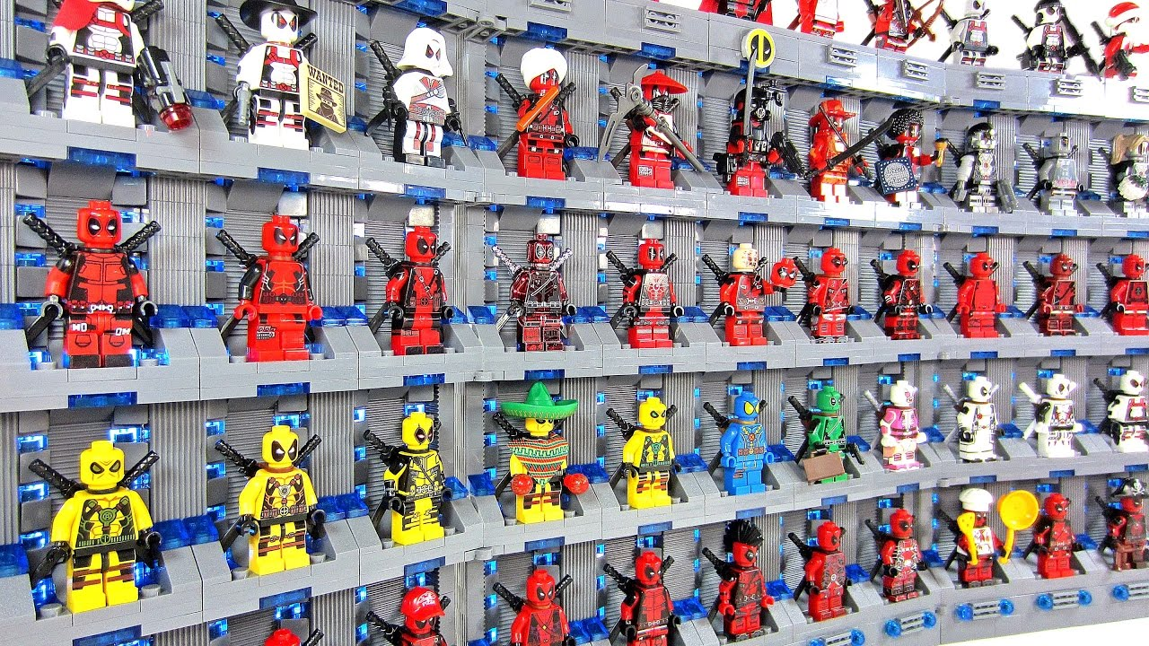 Ultimate Deadpool Minifigure Collection Unofficial Lego Moc X Men Uncanny X Force