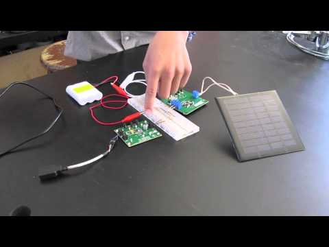 Alvin's Solar-Powered USB Charger