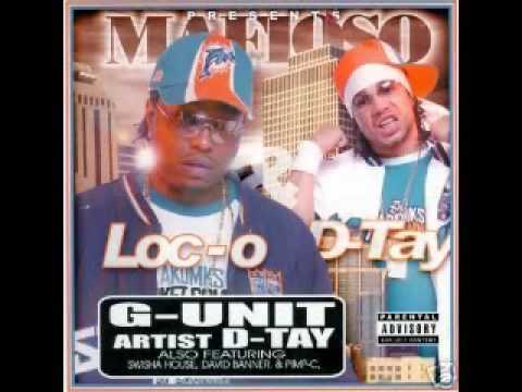 """Repost D-Tay and LOC """" Throwbacks """" Chopped and Screwed By Micheal """"5000"""" Watts/2 Tracks"""