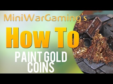 How To: Paint Gold Coins
