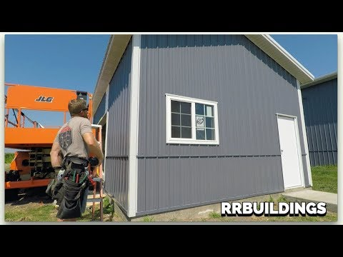 How to build a garage in less than 10 Minutes