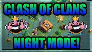 CLASH OF CLANS NIGHT TIME MODE BEST BASE FOR BUILDER HALL 2, 3 Review and Gameplay