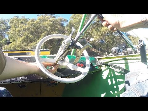 Changing The Steering Wheel On A Boat