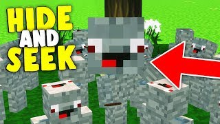 DER ALPHASTEIN TROLL | Minecraft Hide and Seek