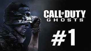 Call of Duty Ghosts Gameplay Walkthrough Part 1 Campaign - CoD Ghosts