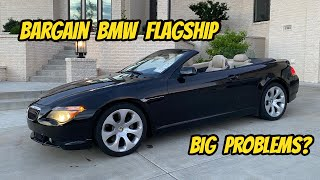 homepage tile video photo for Can/Should I Save this $1900 BMW 645CI??? (Hooptie Rescue Mission)