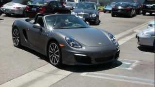 2013 Porsche Boxster Test Drive at Pacific Porsche