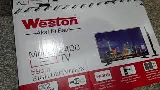 Weston 24 inch led tv review paytm
