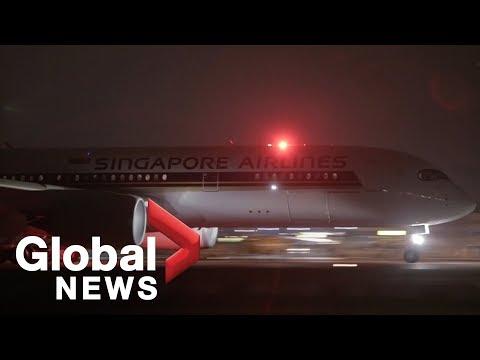 World's longest commercial flight completes 19 hour journey