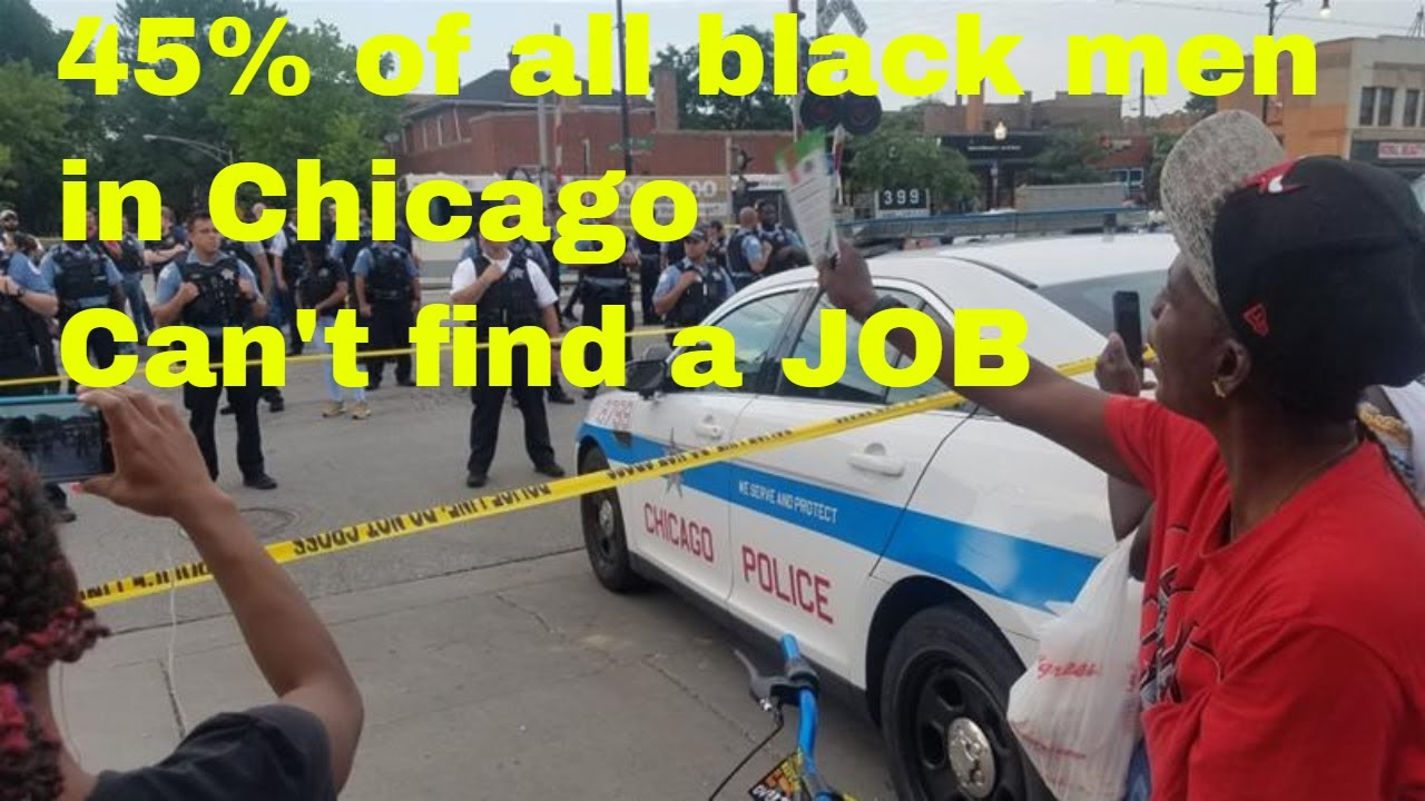 45% of black men in Chicago are jobless and uneducated - here's why - Warren Ballentine