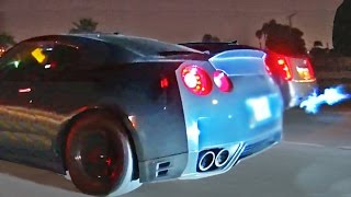 Night Full of STREET RACING in L.A.