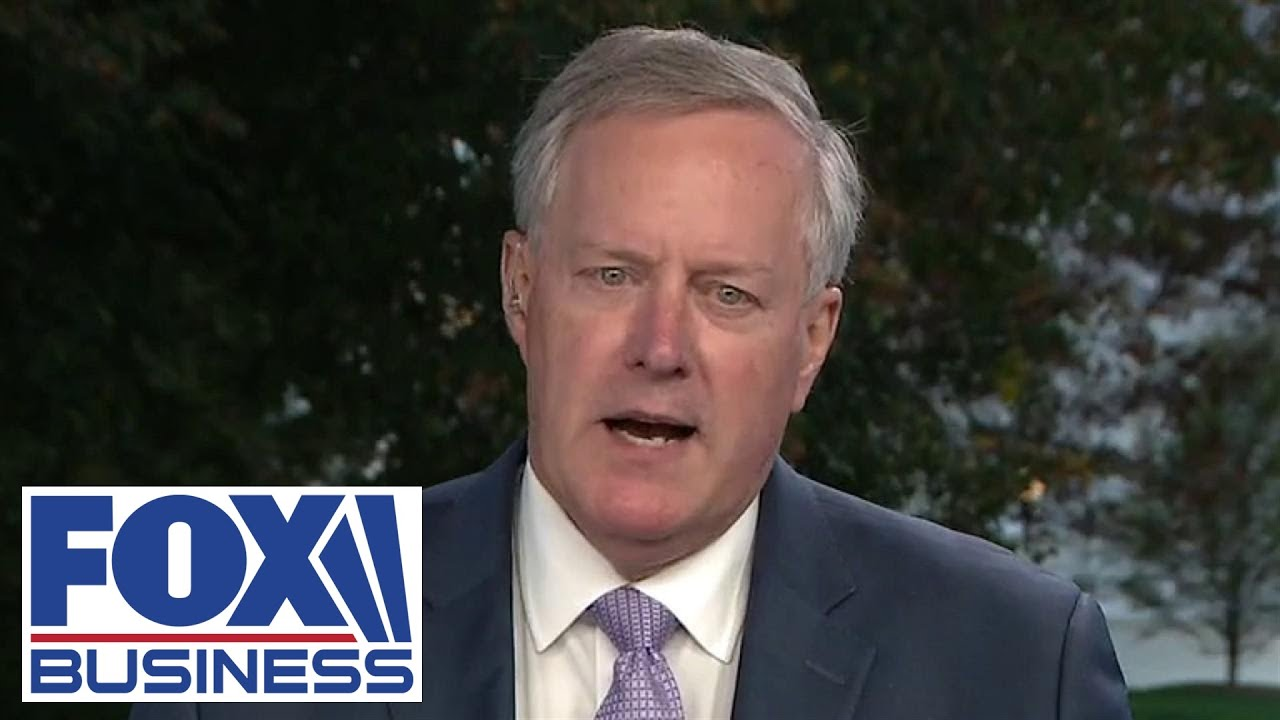 Mark Meadows reacts to newly released Trump audio