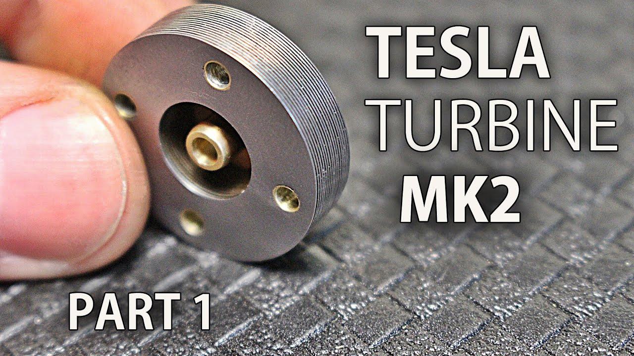 Micro Tesla Turbine Mk2 Part 1
