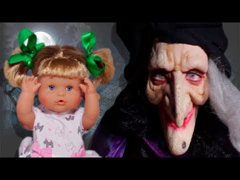 Grandma is A WITCH 🔥 The Adventures of Mia and Noa | Toy Babies