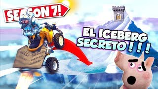 🐷I'm going to the *ICEBERG SECRET* LIVE!!! 🐷 Season 7 PEPA FORTNITE 🐷