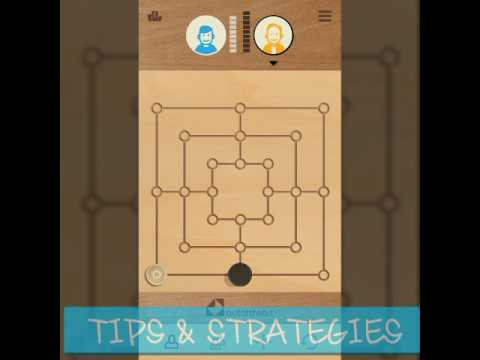 9 Mens Morris - TIPS & STRATEGIES With D.G
