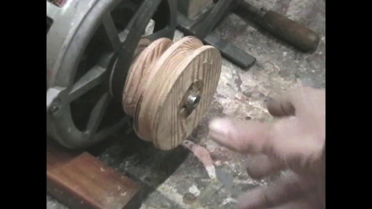 Come motorizzazione il tornio di legno youtube for Costruire tornio legno