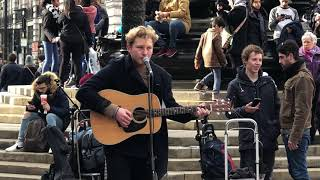 Harry Marshall ED SHEERAN Castle On The Hill 5 of 6 At Piccadilly Circus