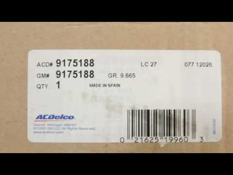 ACDelco 9175188 GM Original Equipment Radio Speaker