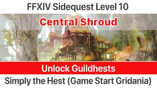 ffxiv unlock guildhests