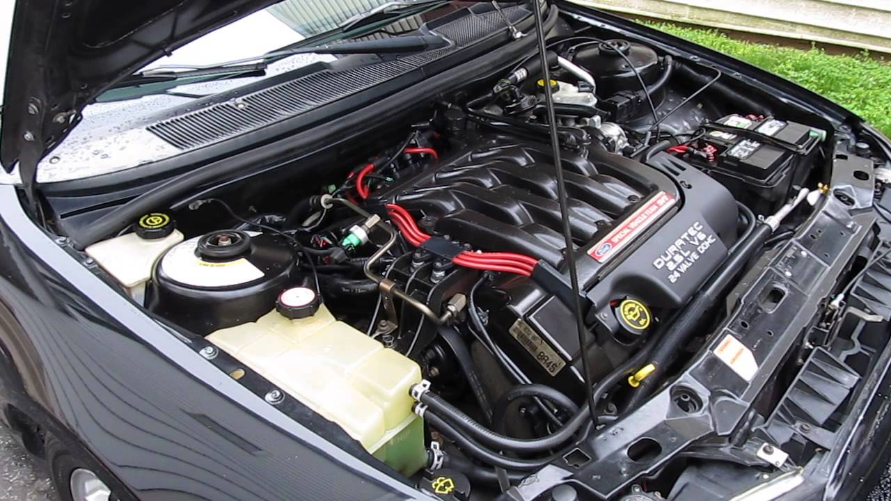 small resolution of 2000 ford svt contour intake manifold removal