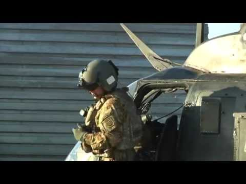 OH-58D Kiowa Warrior Last Flight in Afghanistan
